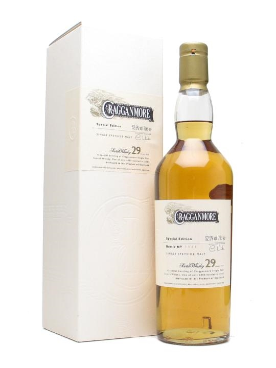 Cragganmore 1973 / 29 Year Old Speyside Single Malt Scotch Whisky