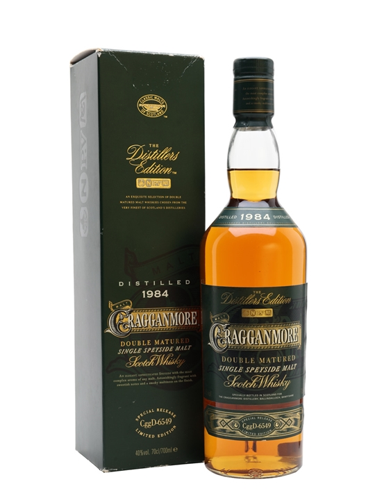 Cragganmore 1984 / Distillers Edition Speyside Whisky