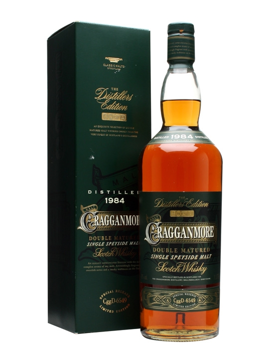 Cragganmore 1984 Distillers Edition Litre Speyside Whisky