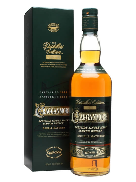 Cragganmore 1998 / Distillers Edition Speyside Whisky