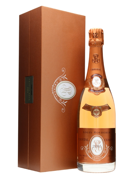 Louis Roederer Cristal 2005 Rose Champagne