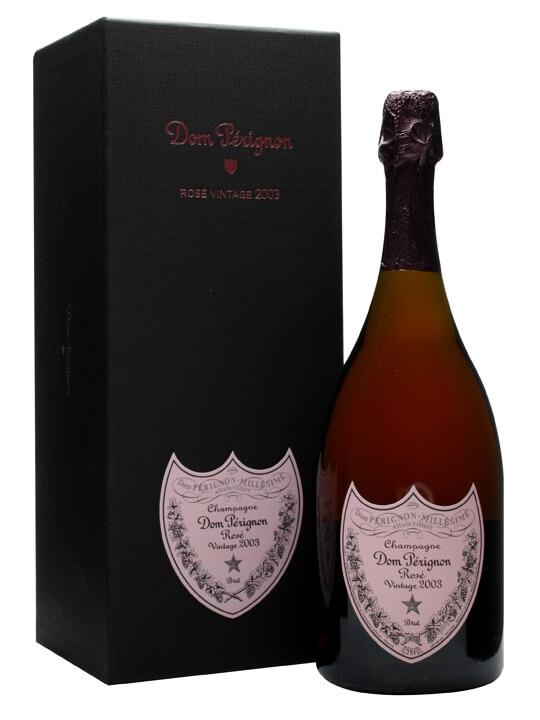 Dom Perignon 2003 Rose Champagne / Gift Box
