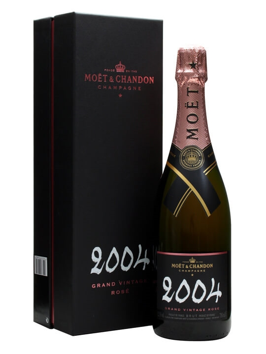 Moet & Chandon 2004 Grand Vintage Rose Champagne