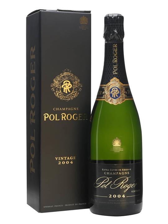 Pol Roger 2004 Brut Vintage Champagne