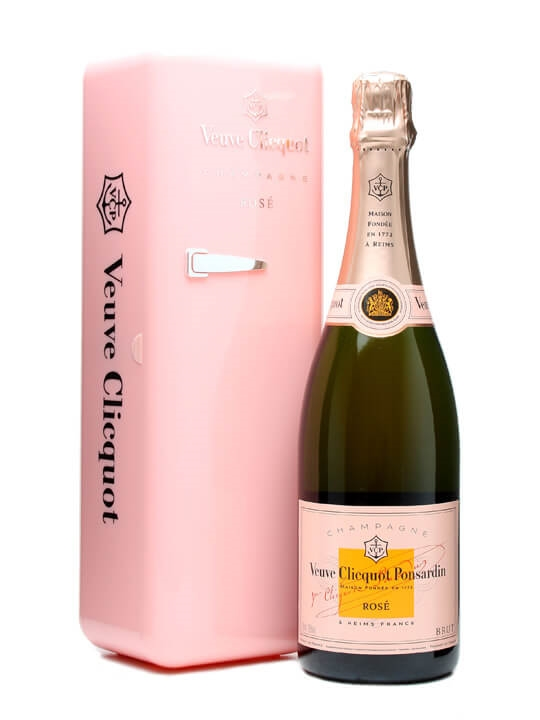Veuve Clicquot Rose NV / Pink Champagne / Fridge