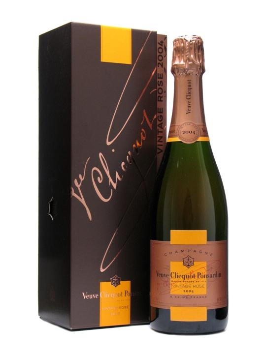 Veuve Clicquot Rose Reserve 2004 Vintage / Pink Champagne