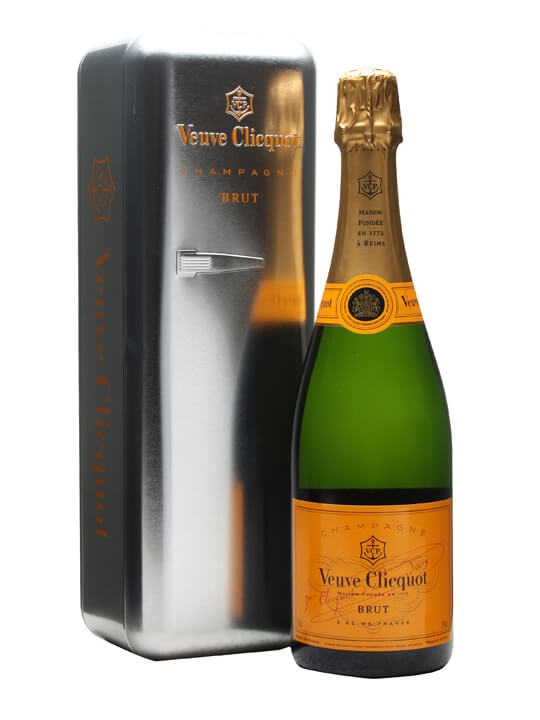 Veuve Clicquot Yellow Label NV / Silver Tin