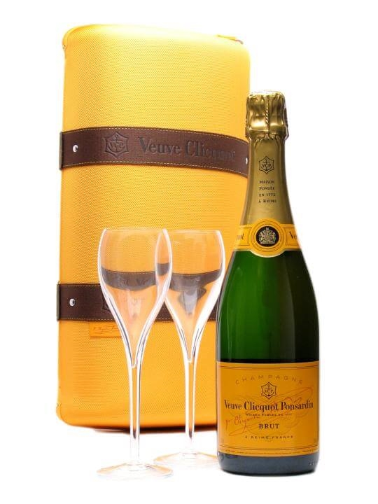 Veuve Clicquot Yellow Label NV Champagne / Traveller