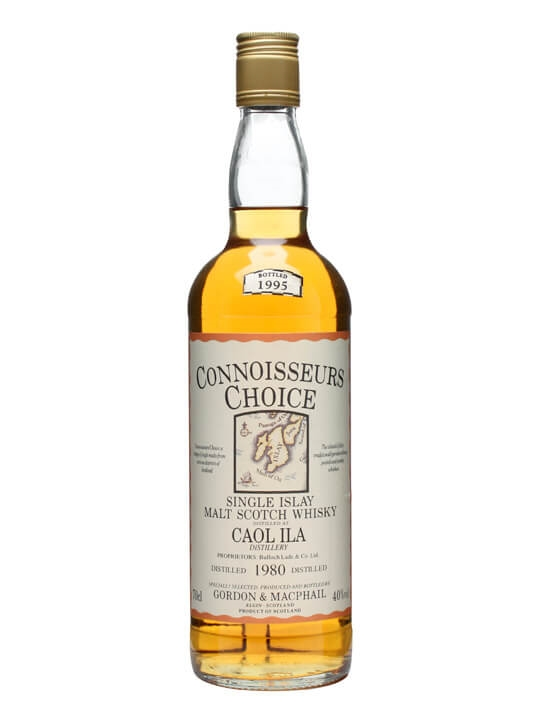 Caol Ila 1980 / Bot.1995 / Connoisseurs Choice Islay Whisky
