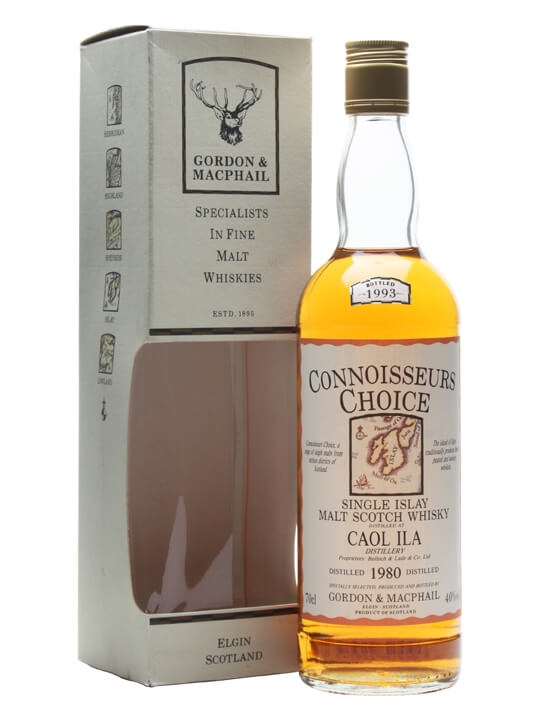 Caol Ila 1980 / Bot.1993 / Connoisseurs Choice Islay Whisky