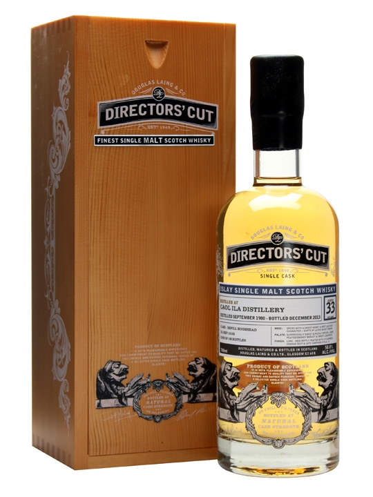 Caol Ila 1980 / 33 Year Old / Director's Cut Islay Whisky