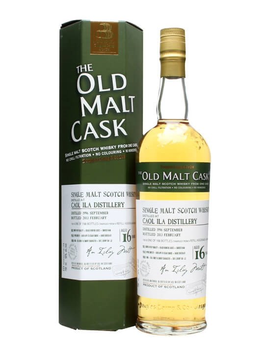 Caol Ila 1996 / 16 Year Old / Old Malt Cask #9512 Islay Whisky