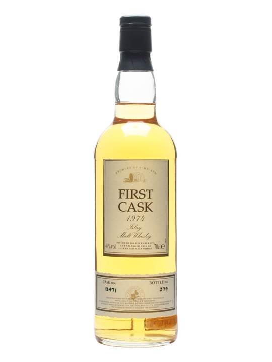 Caol Ila 1974 / 23 Year Old / Cask #12471 / First Cask Islay Whisky