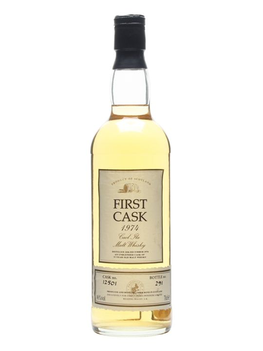 Caol Ila 1974 / 19 Year Old / Cask #12501 / First Cask Islay Whisky