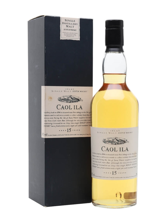 Caol Ila 15 Year Old / Flora & Fauna Islay Single Malt Scotch Whisky