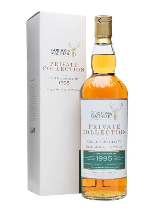 Caol Ila 1995 / Madeira Finish / G&m Private Collection Islay Whisky