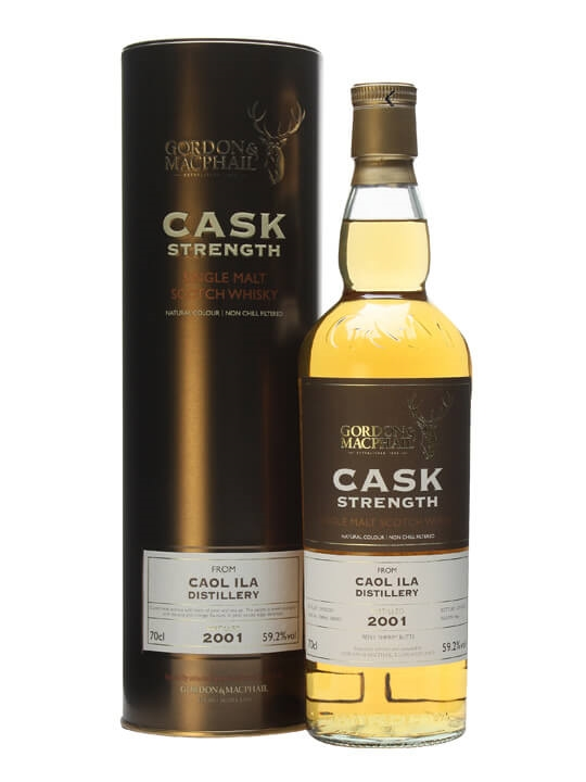 Caol Ila 2001 / Gordon & Macphail Cask Strength Islay Whisky
