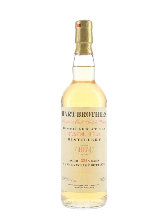 Caol Ila 1974 / 20 Year Old Islay Single Malt Scotch Whisky