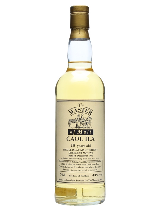 Caol Ila 1974 / 18 Year Old / Master Of Malt Islay Whisky