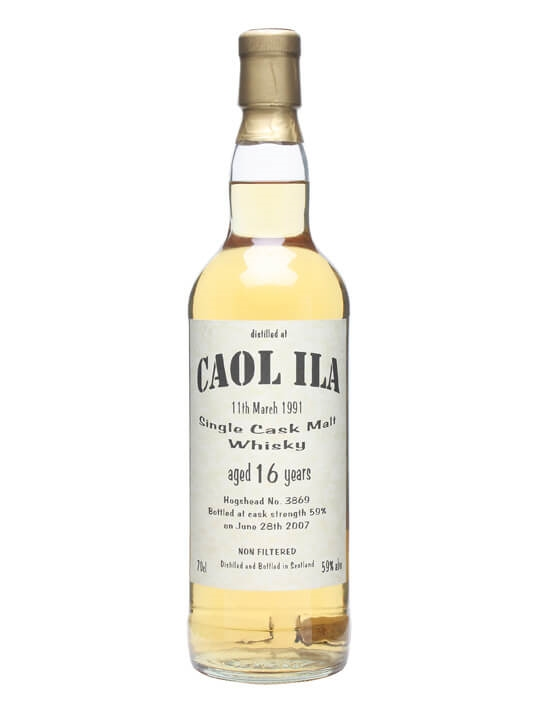 Caol Ila 1991 / 16 Year Old / Bladnoch Forum Islay Whisky