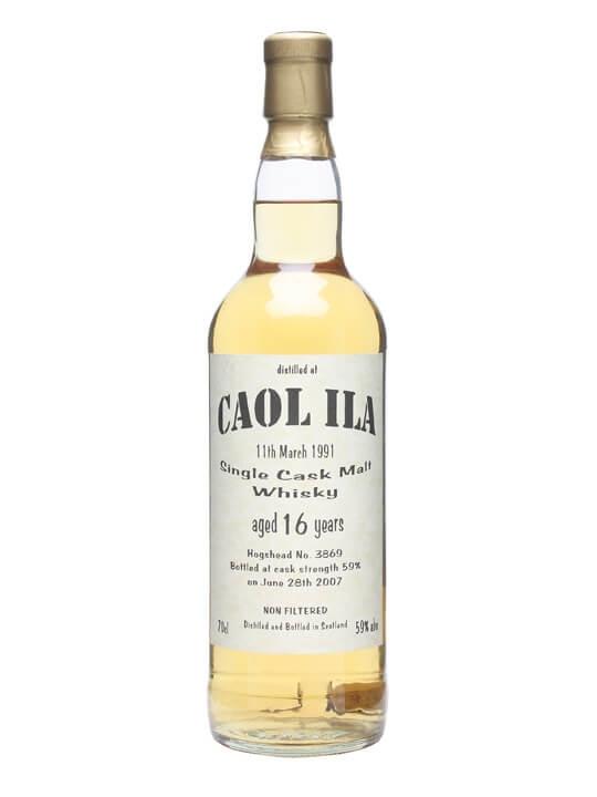 Caol Ila 1991 / 16 Year Old / Bladnoch Forum Islay Whisky