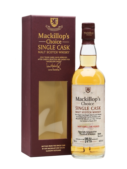 Caol Ila 1979 / 31 Year Old / Mackillop's Islay Whisky