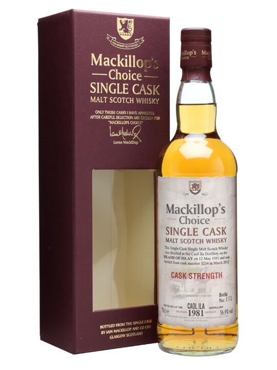 Caol Ila 1981 / 30 Year Old / Cask #3234 / Mackillop's Islay Whisky