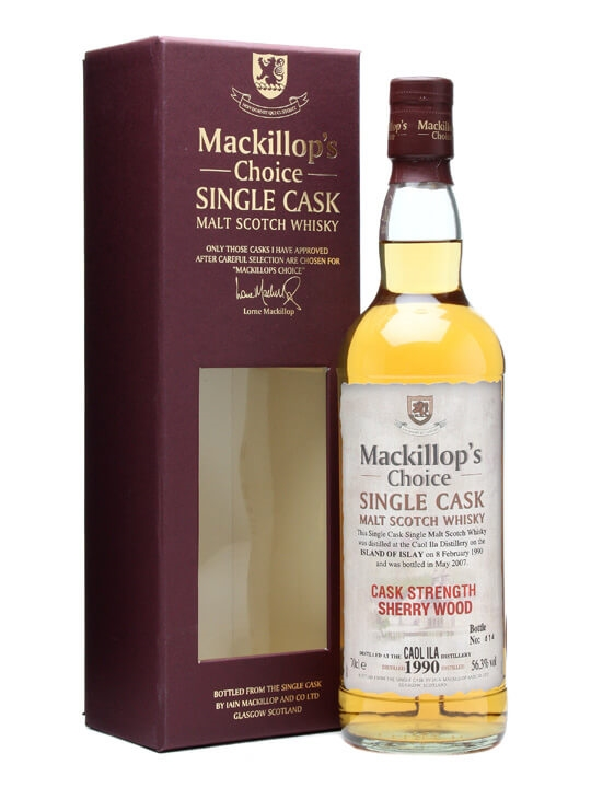 Caol Ila 1990 / 17 Year Old / Sherry Wood / Mackillop's Islay Whisky