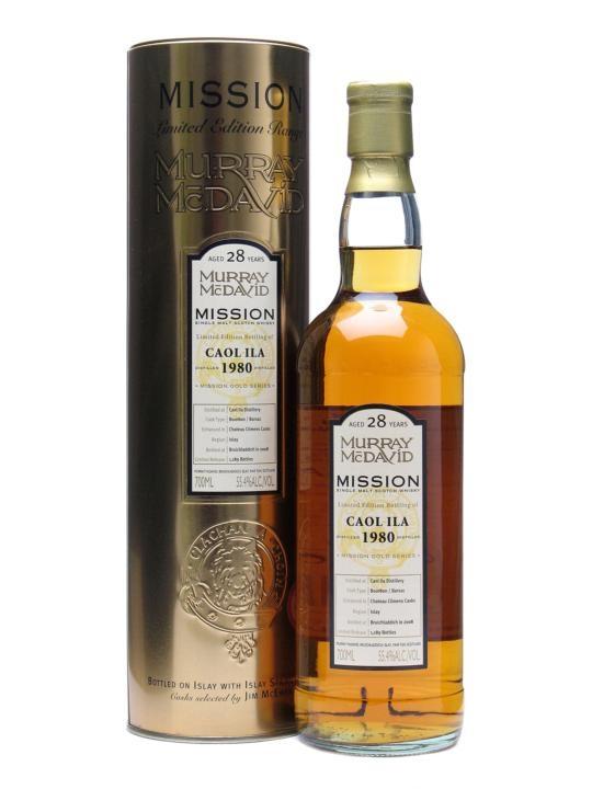 Caol Ila 1980 / 28 Year Old / Barsac Finish Islay Whisky