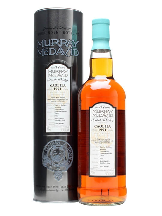 Caol Ila 1991 / 17 Year Old / Quart-de-chaume Finished Islay Whisky