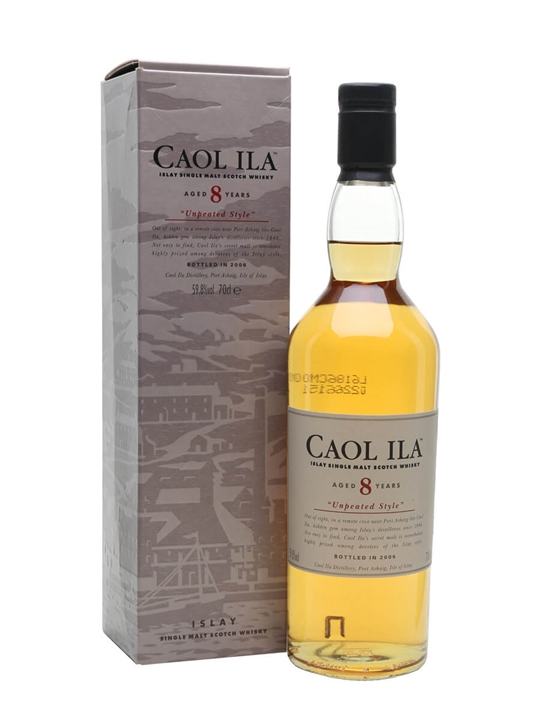 Caol Ila 8 Year Old / Unpeated / Bot. 2006 Islay Whisky