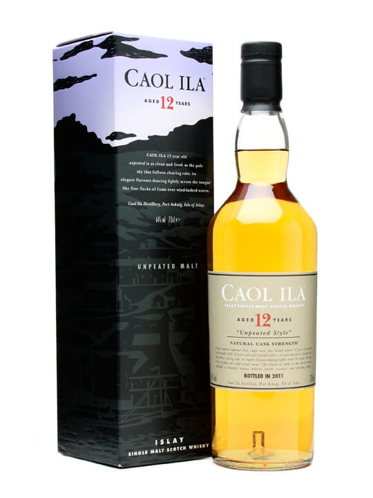 Caol Ila 12 Year Old / Unpeated / Bot.2011 Islay Whisky