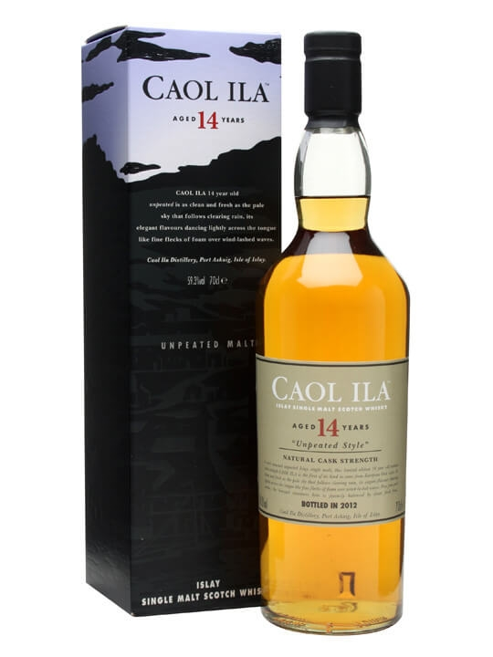 Caol Ila 14 Year Old / Unpeated / Sherry Cask Islay Whisky