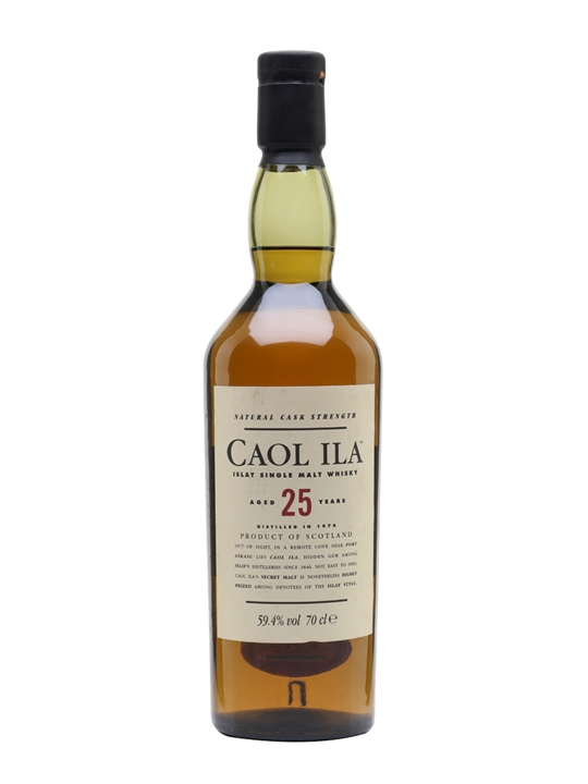 Caol Ila 25 Year Old / Bot.2004 Islay Single Malt Scotch Whisky