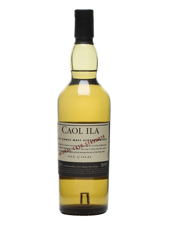 Caol Ila Cask Strength / Quarter Bottle Islay Whisky