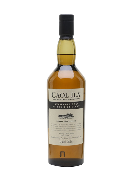 Caol Ila / Natural Cask Strength / Distillery Only Islay Whisky
