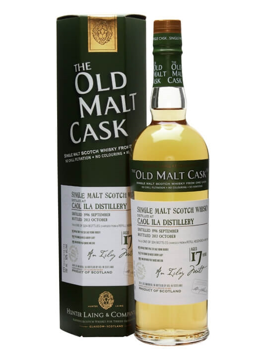 Caol Ila 1996 / 17 Year Old / Old Malt Cask Islay Whisky