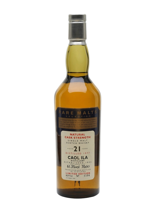 Caol Ila 1977 / 21 Year Old / Rare Malts Islay Whisky