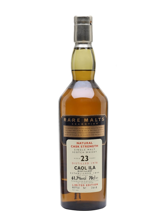 Caol Ila 1978 / 23 Year Old Islay Single Malt Scotch Whisky