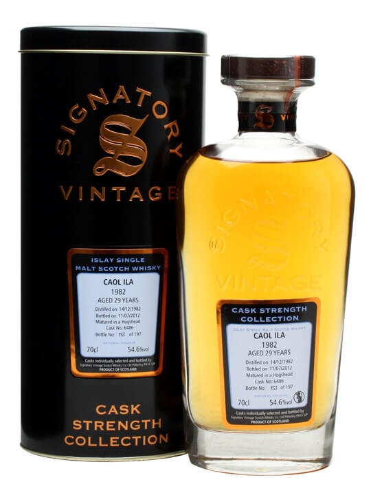 Caol Ila 1982 / 29 Year Old / Cask #6486 Islay Whisky