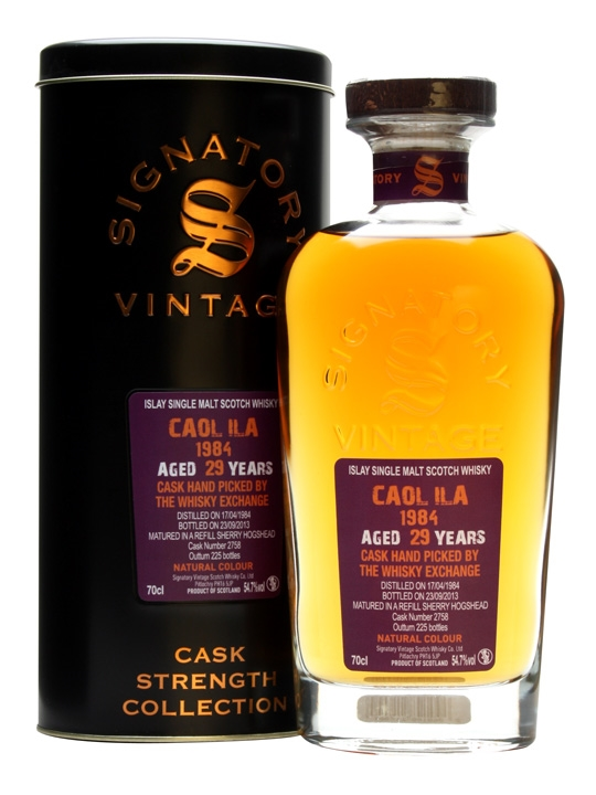 Caol Ila 1984 / 29 Year Old / Sherry Cask / Signatory Islay Whisky