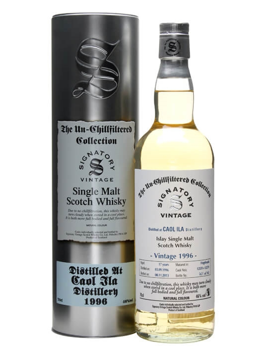 Caol Ila 1996 / 17 Year Old / Cask #12559+70 / Signatory Islay Whisky