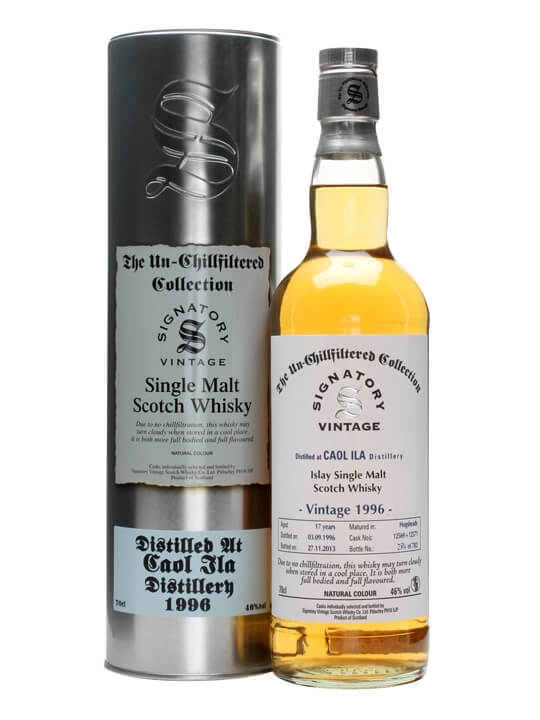 Caol Ila 1996 / 17 Year Old / Signatory Islay Whisky