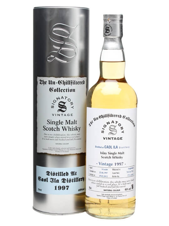 Caol Ila 1997 / 14 Year Old / Cask #7813-7815 Islay Whisky