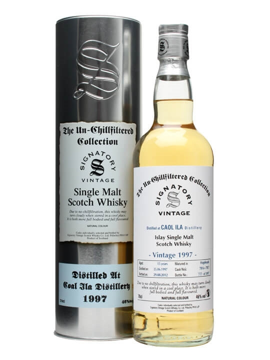 Caol Ila 1997 / 15 Year Old / Cask #7816+7 / Signatory Islay Whisky