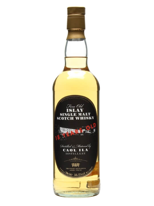 Caol Ila 18 Year Old / Twe Retro Label Islay Single Malt Scotch Whisky