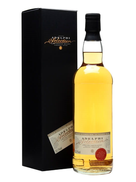 Clynelish 1989 / 24 Year Old / Cask #3846 / Adelphi Highland Whisky