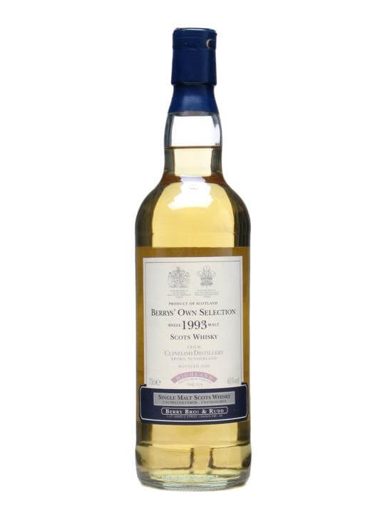 Clynelish 1993 / Bot.2008 / Berry Bros Highland Whisky