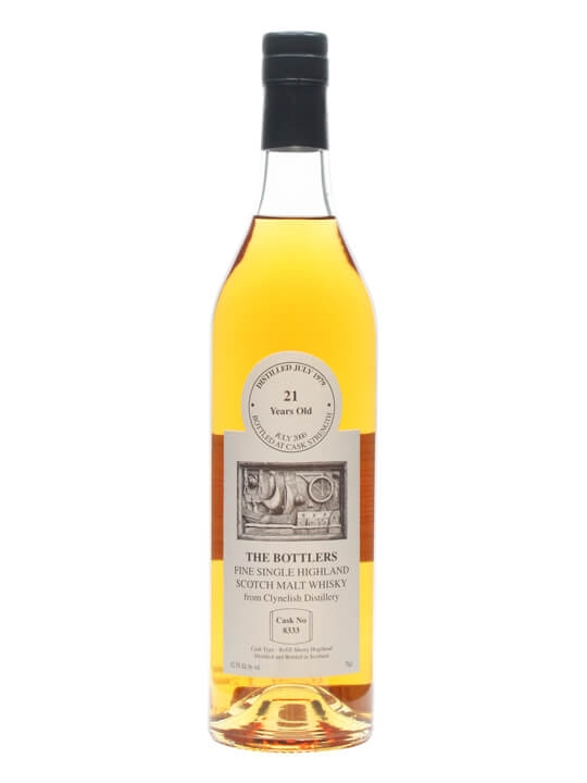 Clynelish 1979 / 21 Year Old / Cask #8333 / The Bottlers Highland Whisky