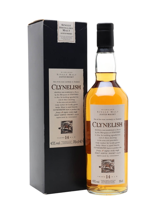 Clynelish 14 Year Old Highland Single Malt Scotch Whisky